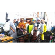 MV Invincible is back form Shetland and here's the fun we had up there!