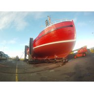 Look at the freshly painted MV Invincible and see what's new for 2016 Scapa diving season